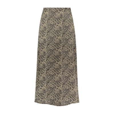 Circle of Trust lexi skirt stormy brown