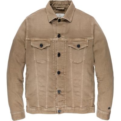 Cast Iron short jacket colored denim sepia tint