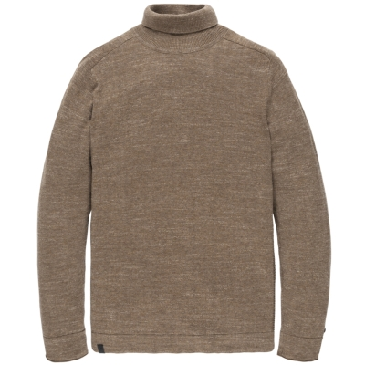 Cast Iron roll neck cotton mel plated otter