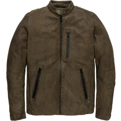 Cast Iron zip jacket sheepture jacket