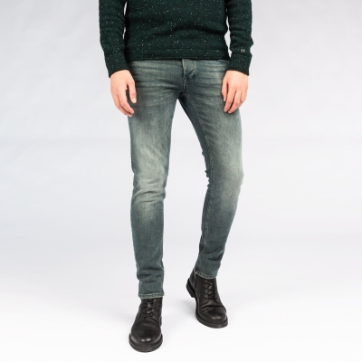 Cast Iron riser slim overdyed comfort denim
