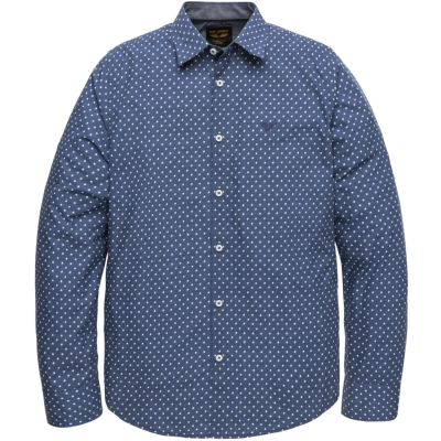 PME Legend long sleeve shirt dark denim