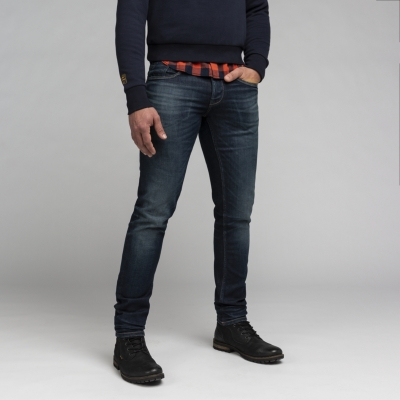 Pme-legend comfort stretch dark blue denim