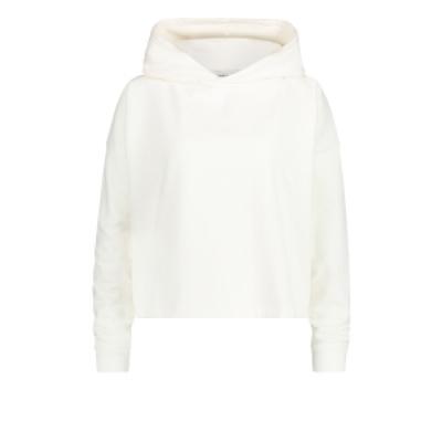 Penn & Ink hoodie off white/black