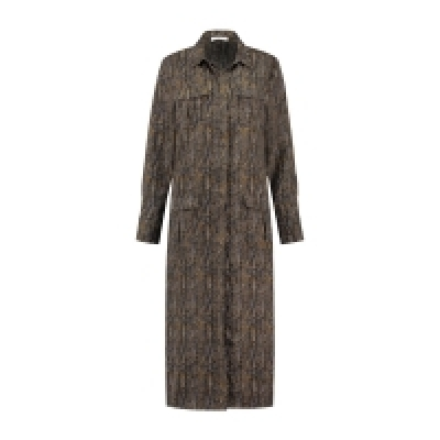 Circle of Trust louise dress snake print