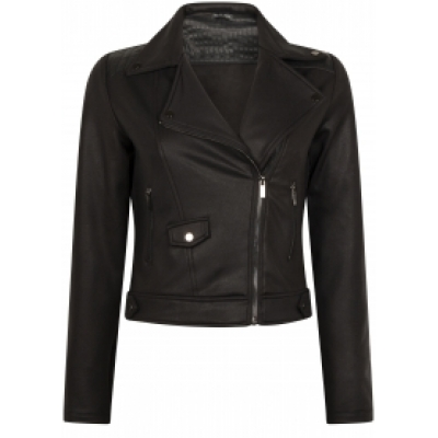 Tramontana biker coated sweat pu mix black