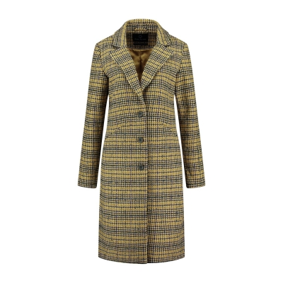 Circle of Trust vivi coat check print