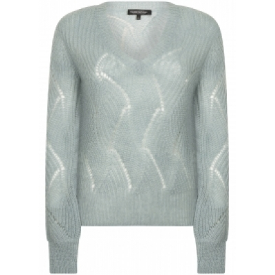 Tramontana jumper mohair faded blue
