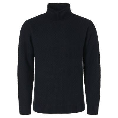 No Excess, pullover crewneck solid jaquard