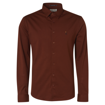 No Excess, shirt jersey stretch stone red