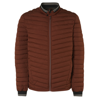 No Excess, jacket short fit padded stone red