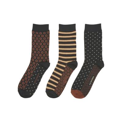 No Excess, socks 3 dessins gift box multi