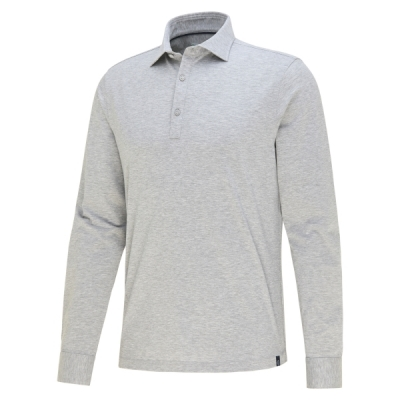 Blue Industry, polo shirt jersey grey