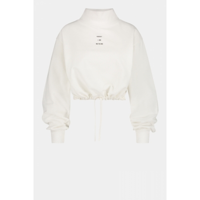 Penn & Ink, sweater print offwhite/black