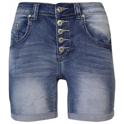 Place du jour short 1262 denim