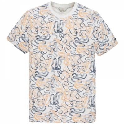 ctss203272-7003 r-neck fine jersey melange bright white
