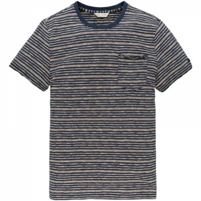 ctss203276-7138 r-neck stripe jersey