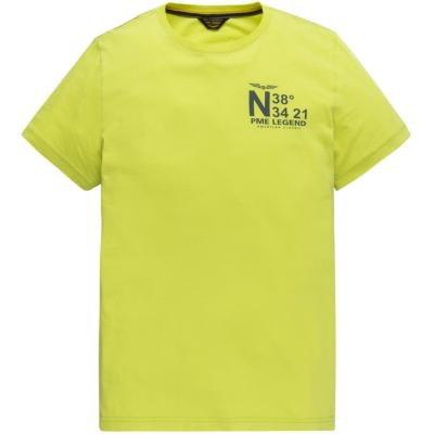ptss204572-1126 short sleeve r-neck single jersey limeade